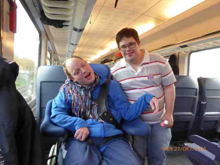 Mark im Zug